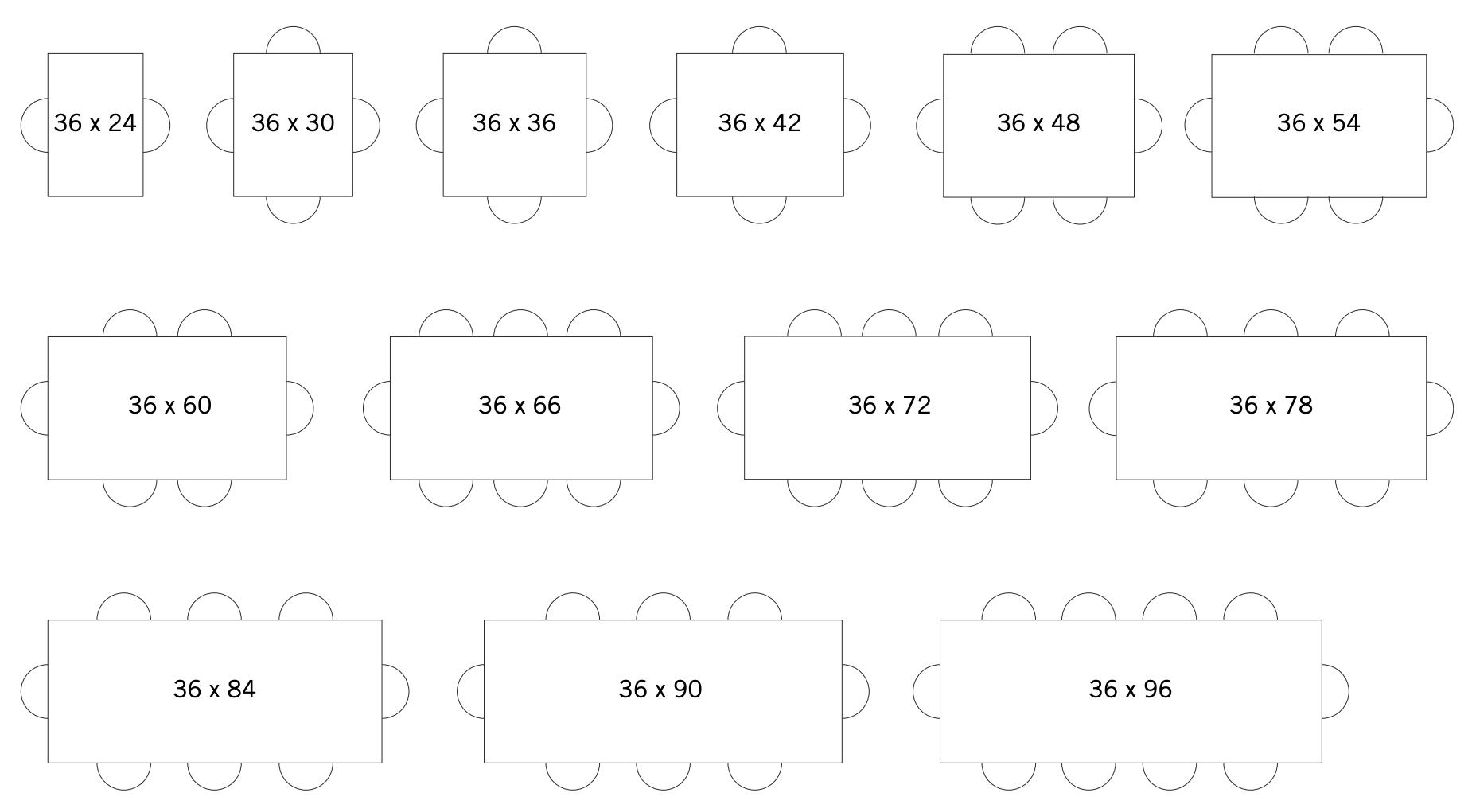 Standard Seating Capacities-1